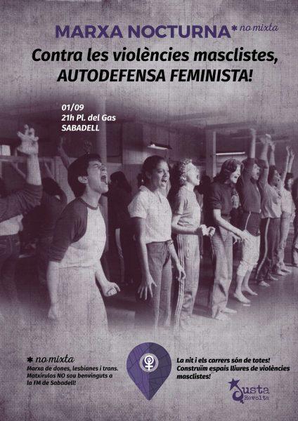 01/09:: Marxa Nocturna *no mixta Contra les violències masclistes