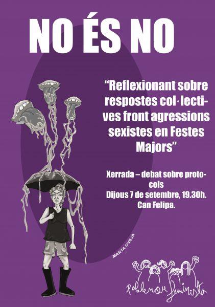 POBLENOU FEMINISTA_ XERRADA - DEBAT PROTOCOLS