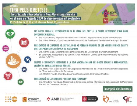 TIRA PELS DRETS programa i inscripció